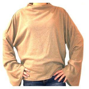 Tops - tan blouse